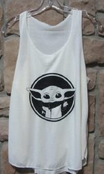 Baby Yoda tank top