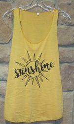 Sunshine shirt sun tank top